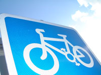 cycling-sign